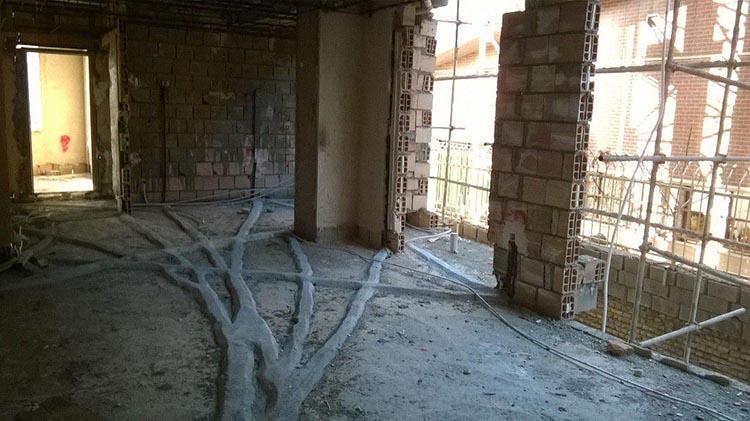 مراحل برق کاری ساختمان