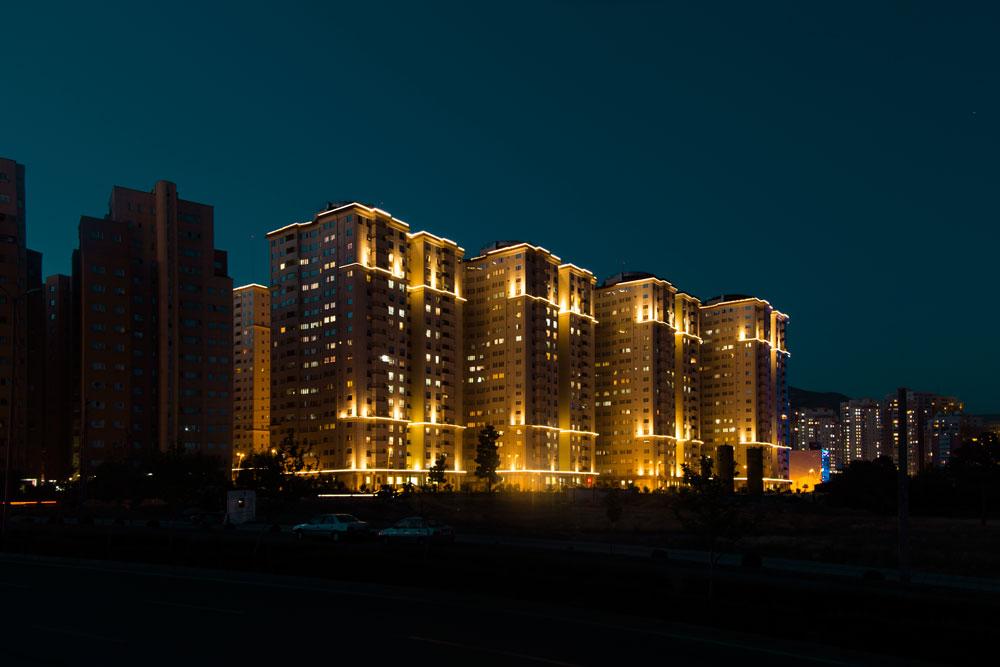 پروژه برج های مسکونی صیاد شیرازی