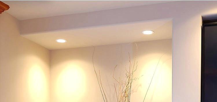 آشنایی با نورپردازی سقف کاذب: مزایای آن