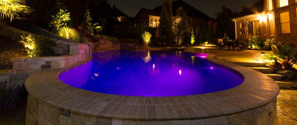 Create a Mood with Pool Lights