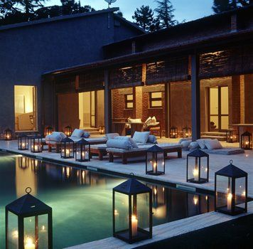 For Lighting Ideas for a Well-Lit Pool